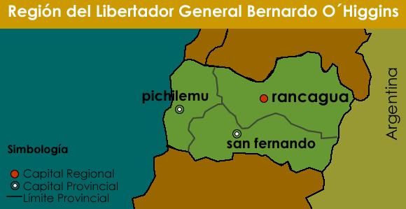 Region del Libertador General Bernardo O´Higgins