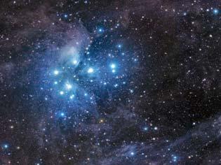 """""""Nebulosa de pleyades"""" o """"siete hermanas"""""""
