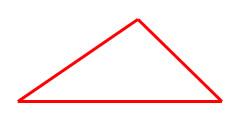 figura de tres lados