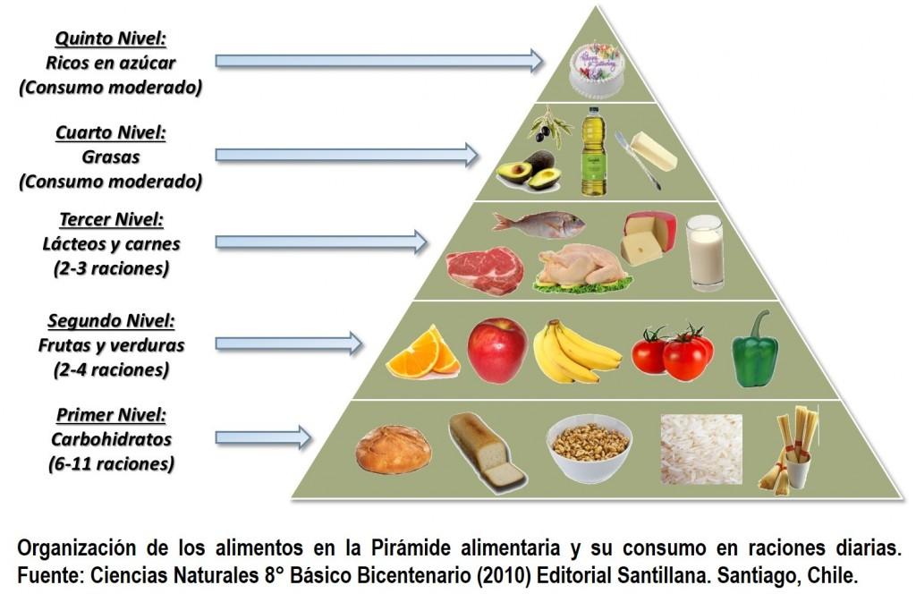 La piramide alimenticia - Piramide alimenticia para colorear ...