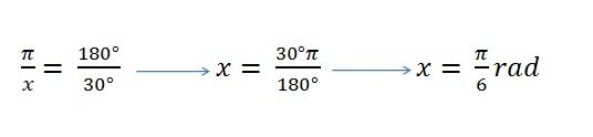 Cómo transformar ángulos a radianes.
